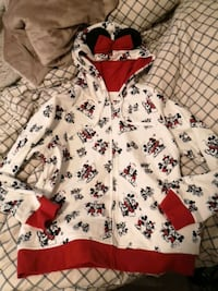 Disney Mickey and Minnie Zipup hoodie