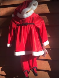 Santa Claus outfit for 24m