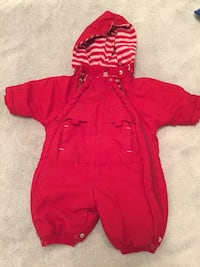 red hooded coveralls Nacka, 132 34
