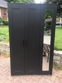 black wooden cabinet with mirror Dundas, L9H 4H5