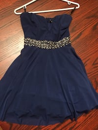 Topshop Navy Semi Formal Party Dress North Vancouver, V7H 1E3