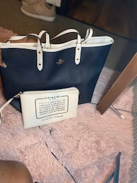 Coach Tote with Clutch