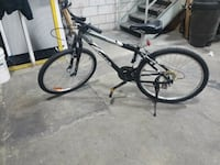 black and gray hardtail bike Brampton, L6T 5R6