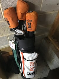 Full set right handed golf clubs
