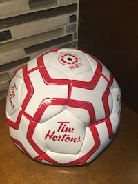Tim Hortons coffee mini soccer ball Canada size 3 Bolton, L7E 1X7