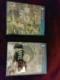 Sony PS4 games Fifa and NHL 17 Brand New