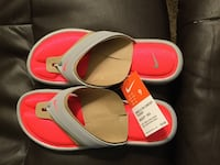 red-and-white Nike slide sandals Phoenix, 85023