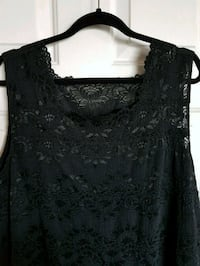 Beautiful Black Stretch Lace Tank/Camisole Plus 4X Toronto, M5M