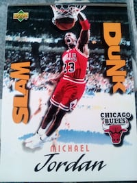 Michael Jordan Upper Deck slam dunk Chicago Bulls  Montgomery, 36107