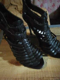 Black dress shoes womens size 8.5 Visalia