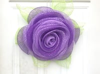 Purple and green floral rose Wreath Inwood, 25428