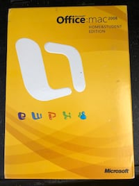 Microsoft Office 2008 for Mac Home & Student Edition/Negotiable. (MULTIPLE USERS/KEY LICENSES) Burbank, 91505