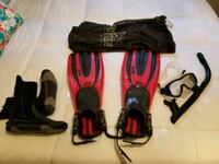 Diving Fins, Boots, Snorkle, Mask Raleigh, 27604