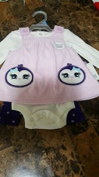 *NEW* Baby Girl 3 Piece Outfit Cambridge, N1R 4S4