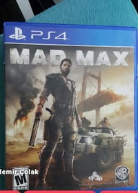 Playstation PS 4 Oyun Takaslık Mad Max Alanya