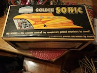Boxed Tigret golden sonic rocket toy  Rahway, 07065