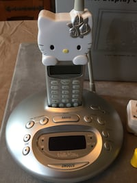 Gray Hello Kitty wireless telephone Price is firm Mesquite, 75149