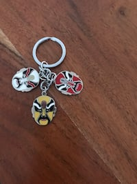 Chinese Traditional Drama Opera Mask Keychain