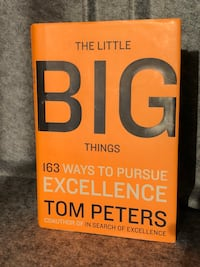 The Little Big Things: 163 Ways to Pursue EXCELLENCE Hardcover Del Mar, 92014