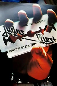 "Judas Priest ""British Steel"" vinyl album La Plata, 20646"
