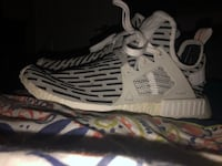 White-and-black adidas running shoes Wheatland, 95692