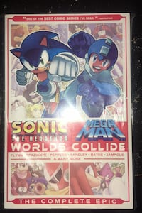 Sonic / Mega Man: Worlds Collide: The Complete Epic Memphis, 38018