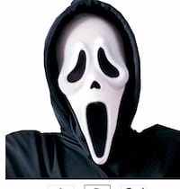 2 Scream costumes mask and robe  Rockville, 20853