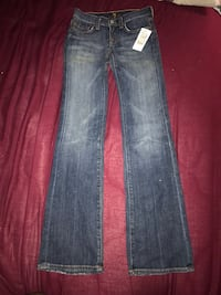 NWT For All Man Kind jeans 137 mi