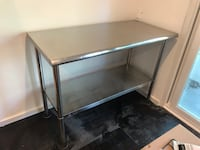 """Stainless steel counter table. 48"""" West Hollywood, 90046"""