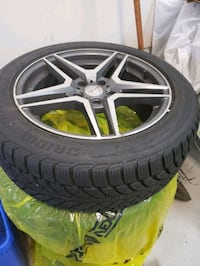 4 Snow Tires with Rims in Great Condition!