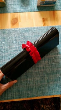 black and red clutch Edmonton, T6K 2C9