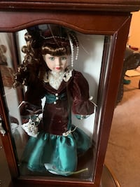 Baby doll in case Levittown, 19055
