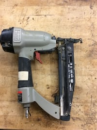 Porter Nd cable finishing nail gun FN2508 . Used.