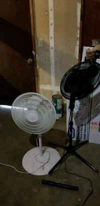two white and black pedestal fans Shasta Lake, 96019