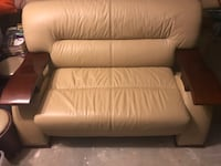 white leather 2-seat sofa Silver Spring, 20905
