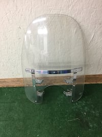 Harley Davidson Quick Release Windshield for a Dyna