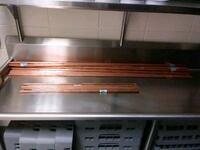 Copper pipes 25 pieces 5 1/2 feet Chicago, 60644