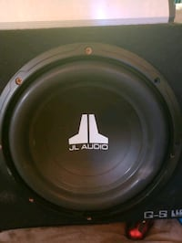 "10"" JL Audio Subs/Box/Amps/Wires Modesto, 95350"