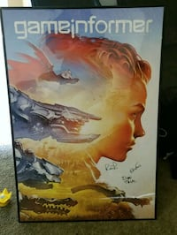 Framed and signed poster from Horizon Zero Dawn  Toledo, 43615