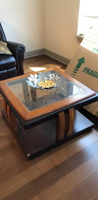 Glass top coffee table Denver, 80203