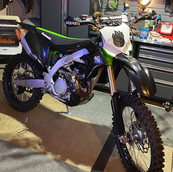2019 Kx 450 fuel injected 1