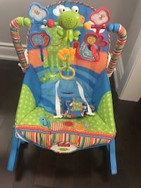 blue and green Fisher-Price bouncer Brampton, L6X