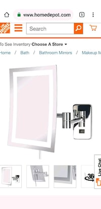 Wal mounted mirror Asheville, 28801
