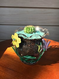 Cacti in Decorative glass  Hamilton, L8H 2T4