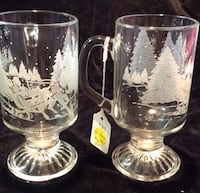 Sleigh Ride Mugs set of 2 Bellevue, 68157