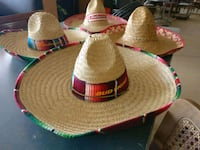 Straw Colorful Mexican Hats Lakeland