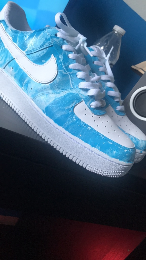 hydro dipped air force 1