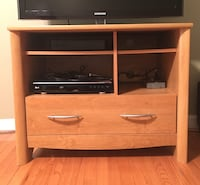 TV Stand and Blu-ray player Burke