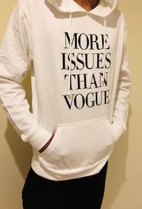 Hoodie more issues than vogue Mississauga, L5V 1B3