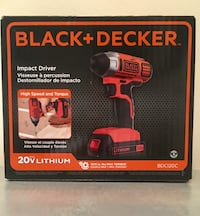 Brand New 20-Volt MAX Lithium-Ion Cordless Impact Driver with Battery 1.5Ah and Charger Virginia Beach, 23464